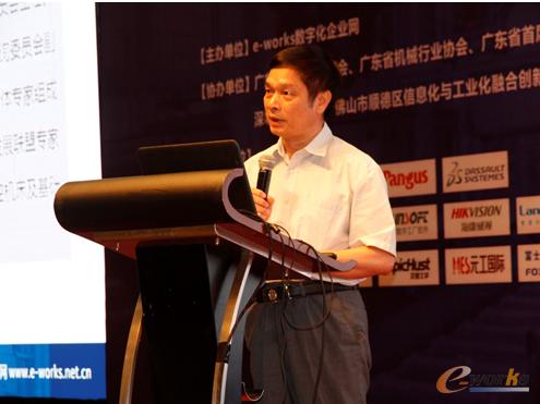 广东省自动化学会理事长、广东省机械工程学会秘书长刘奕华