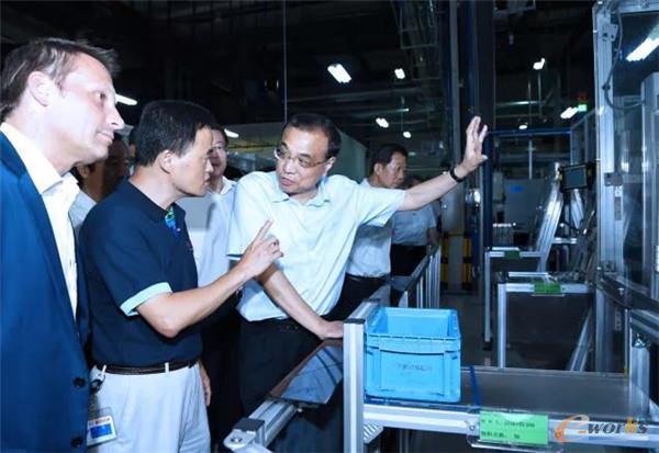李克强总理考察博世汽车部件(长沙)有限公司