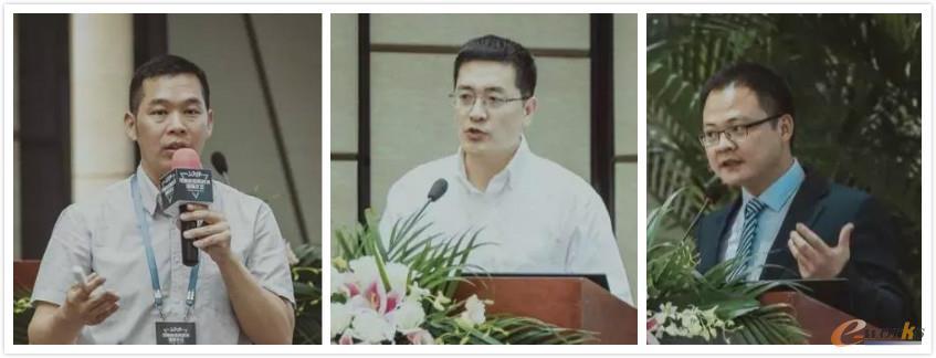 从左至右:昕诺飞李修鹏先生、中国商发王鹏博士、上海瑞卓陈云斌先生