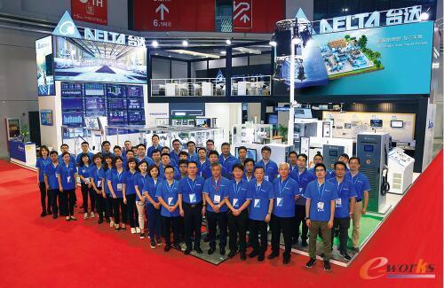 台达中国国际工业博览会展台