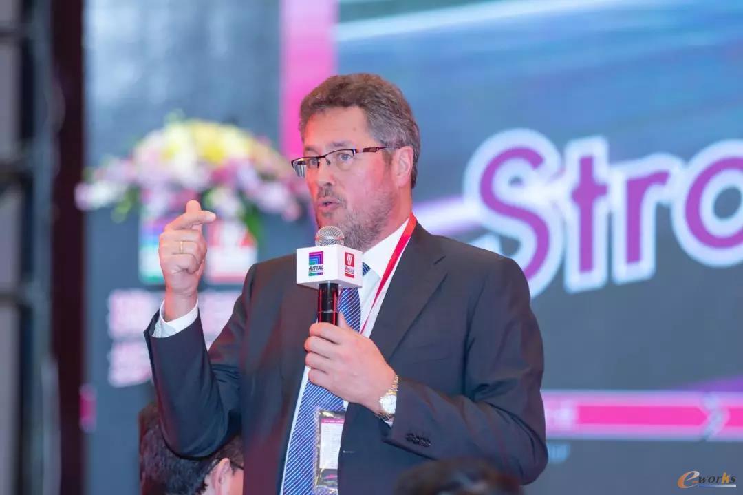 威图(Rittal)全球CEO库勒(Dr.Köhler)先生