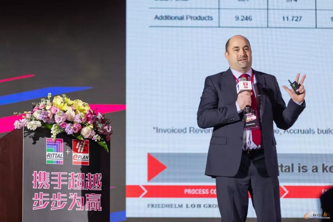 易盼(EPLAN)全球CEO塞茨·塞巴斯蒂安先生