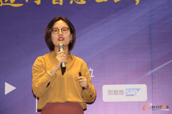 SAP中国区技术顾问戴丽莉