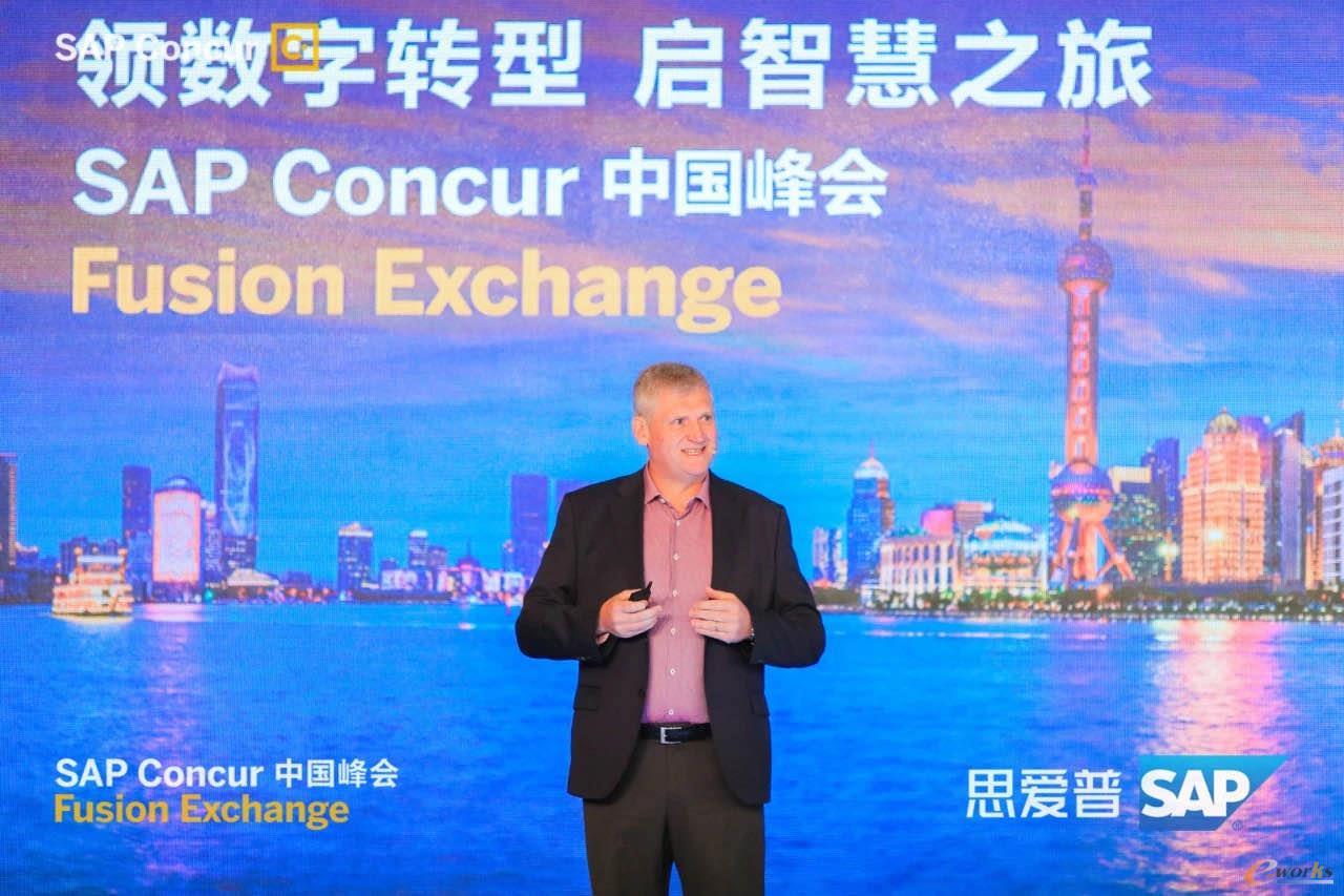 SAP Concur高级副总裁兼亚太、大中华区总经理屈安狄