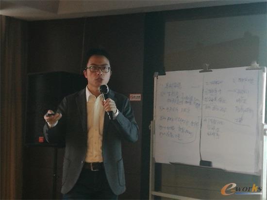 上海管微信息系统有限公司APS技术总监叶辉