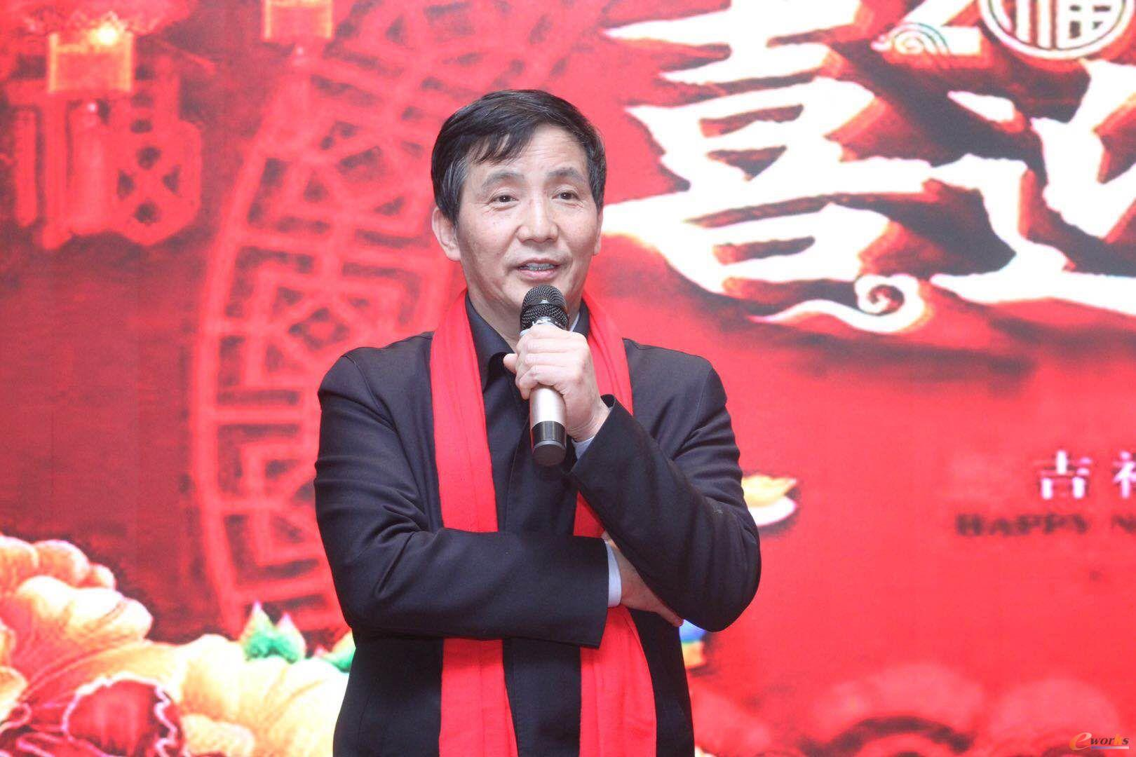 国家数字化设计与制造创新中心总经理李斌教授