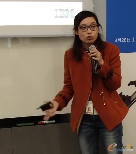 IBM中国研究院的研究员和项目经理黄瑾