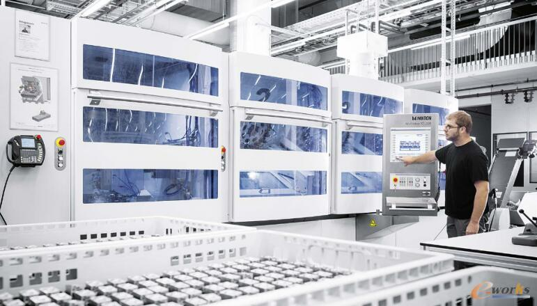工厂内生产加工