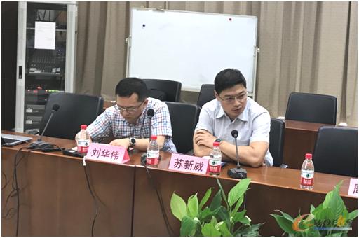 图2 武汉市经信局科学技术与人工智能处处长苏新威