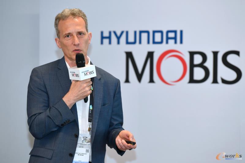 现代摩比斯副总裁、AV系统开发中心负责人Gregory Baratoff常务