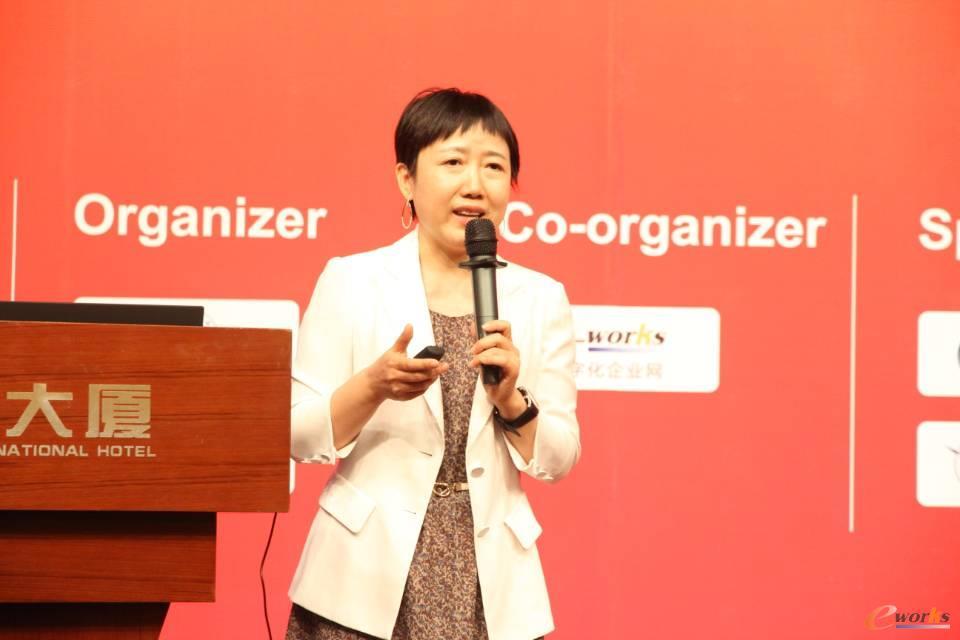 中国信息通信研究院副总工程师王爱华