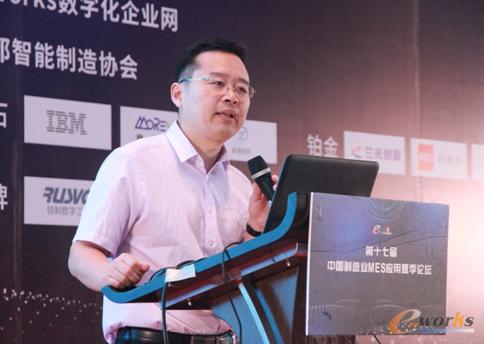 图10 北京兰光创新科技有限公司董事长朱铎先