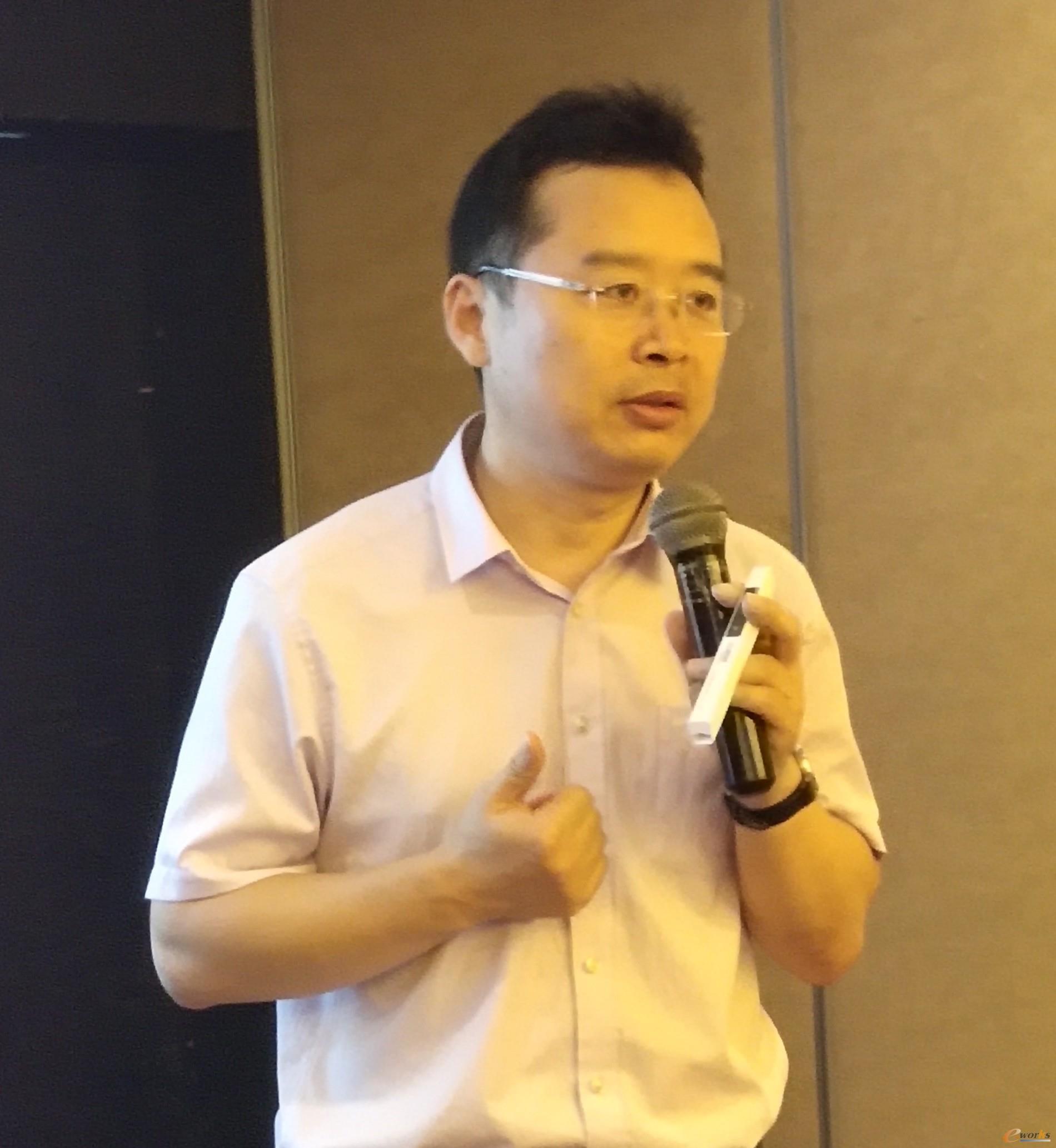 北京兰光创新科技有限公司董事长 朱铎先
