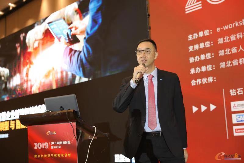 SAP中国智能制造首席专家 郭智麟