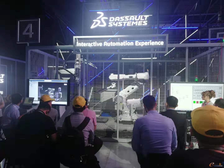 机器人编程与虚拟调试场景