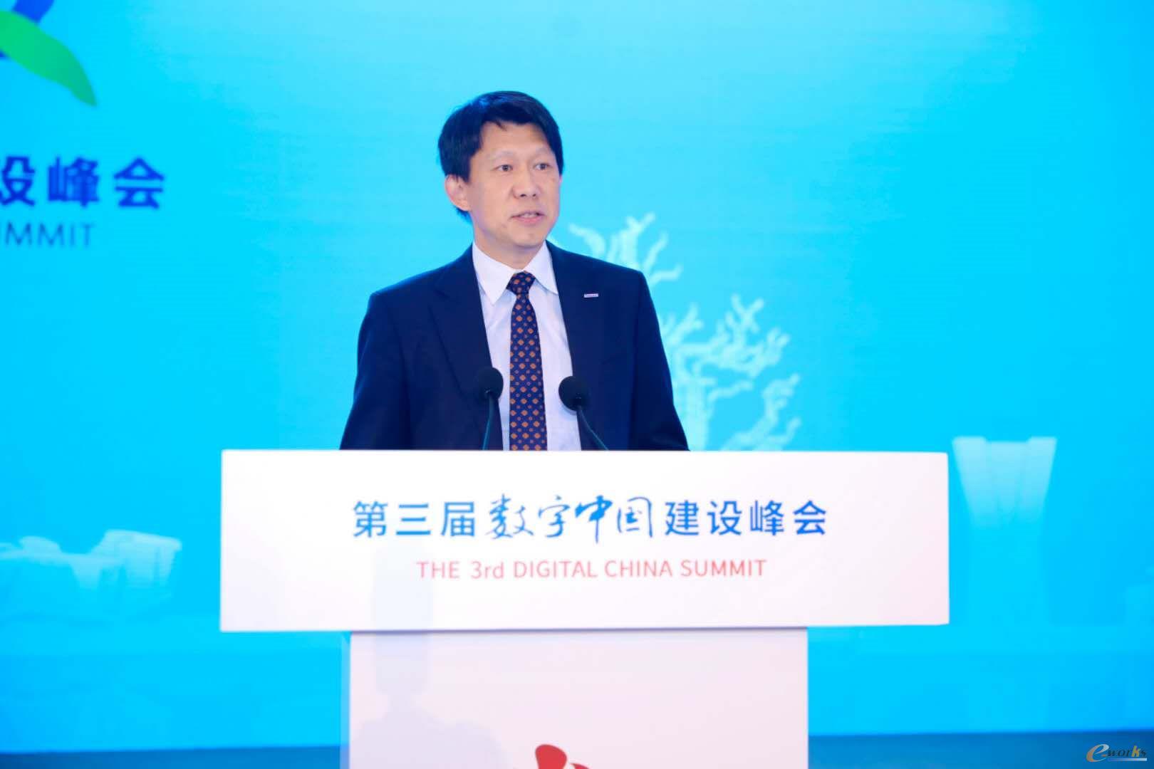 松下电器机电(中国)有限公司自动化营业总括部技术统括李庭弼