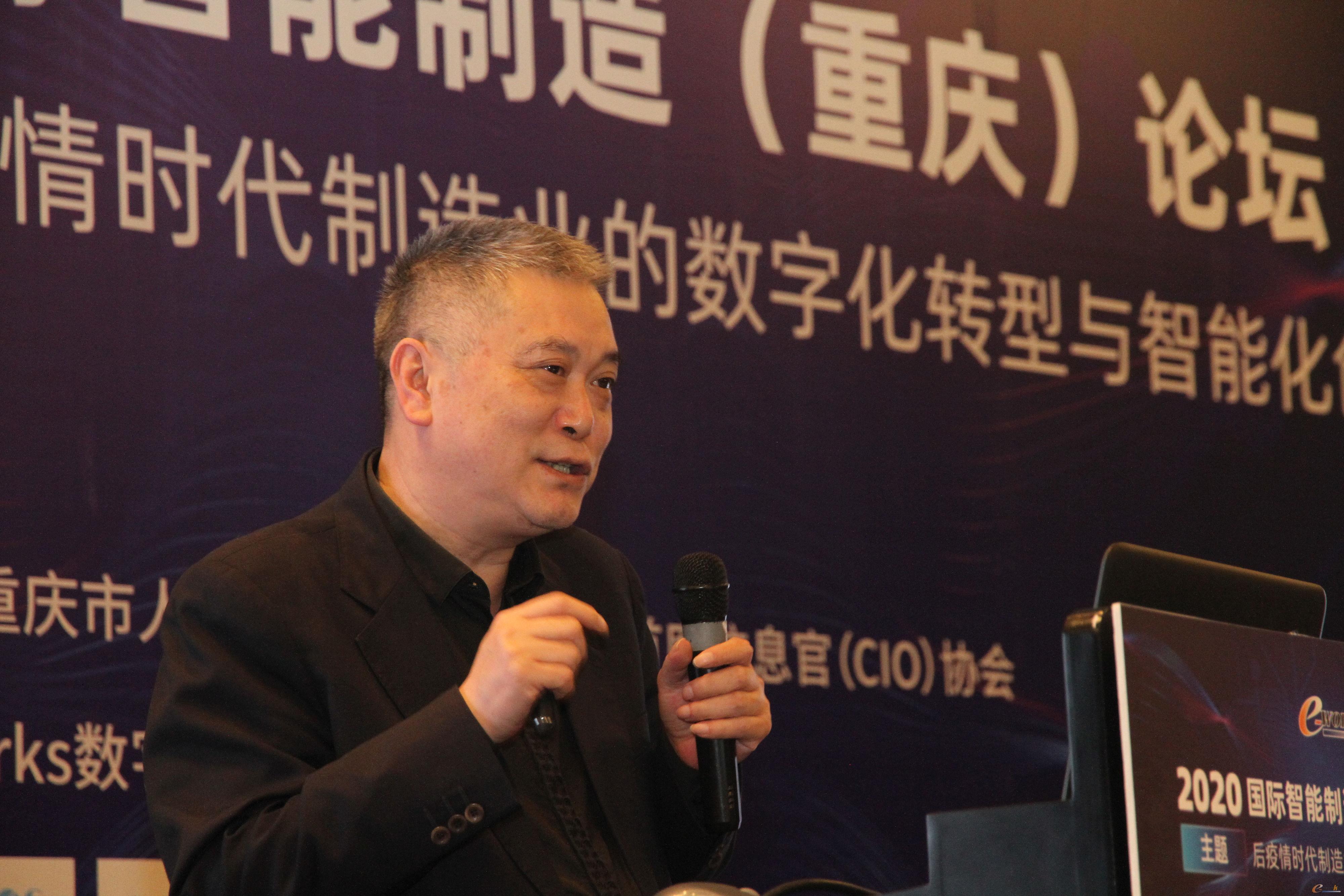 重庆银河试验仪器有限公司董事长张志贤