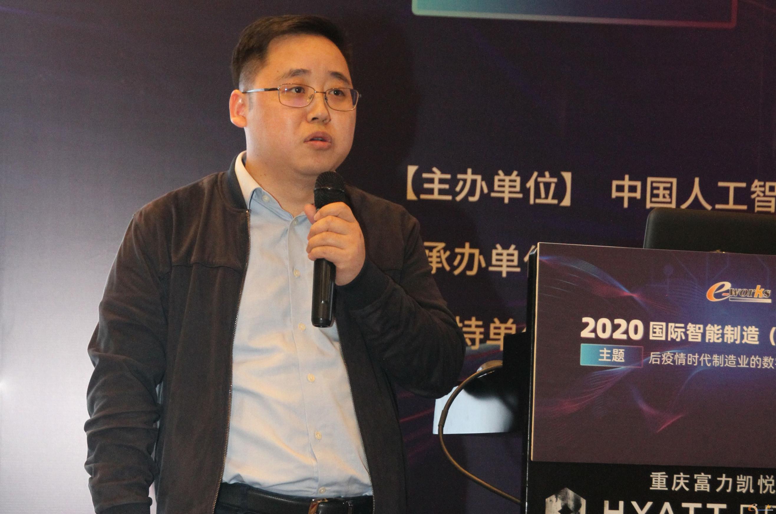 重庆机电智能制造有限公司产业技术部王俊部长
