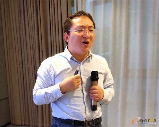 德国代傲集团自动化与数据分析经理 谢健