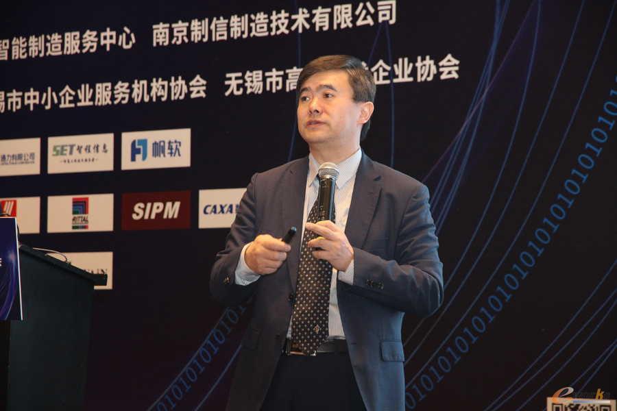 e-works CEO黄培