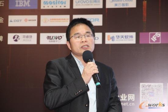 浙江传化化学集团信息技术部总经理吴立斌