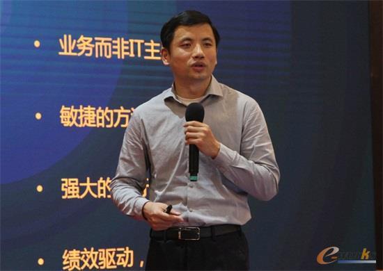 IBM制造业数字化转型合伙人邓钦