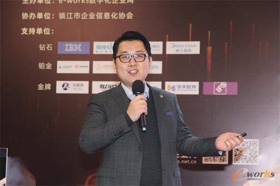 Monitor中国区销售总监潘洪参