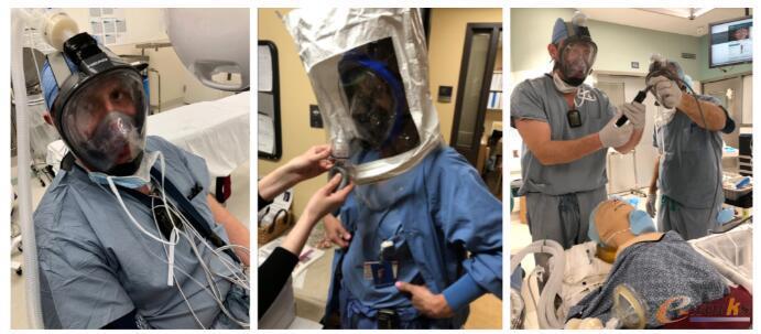 MasksOn的第一个面罩在波士顿医院接受临床医生的测试