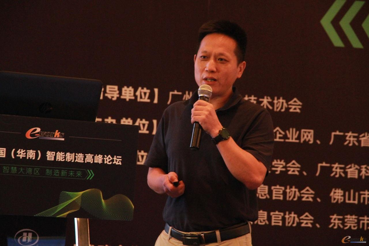 深圳市裕同包装科技流程与IT中心高级信息化总监曾勇松