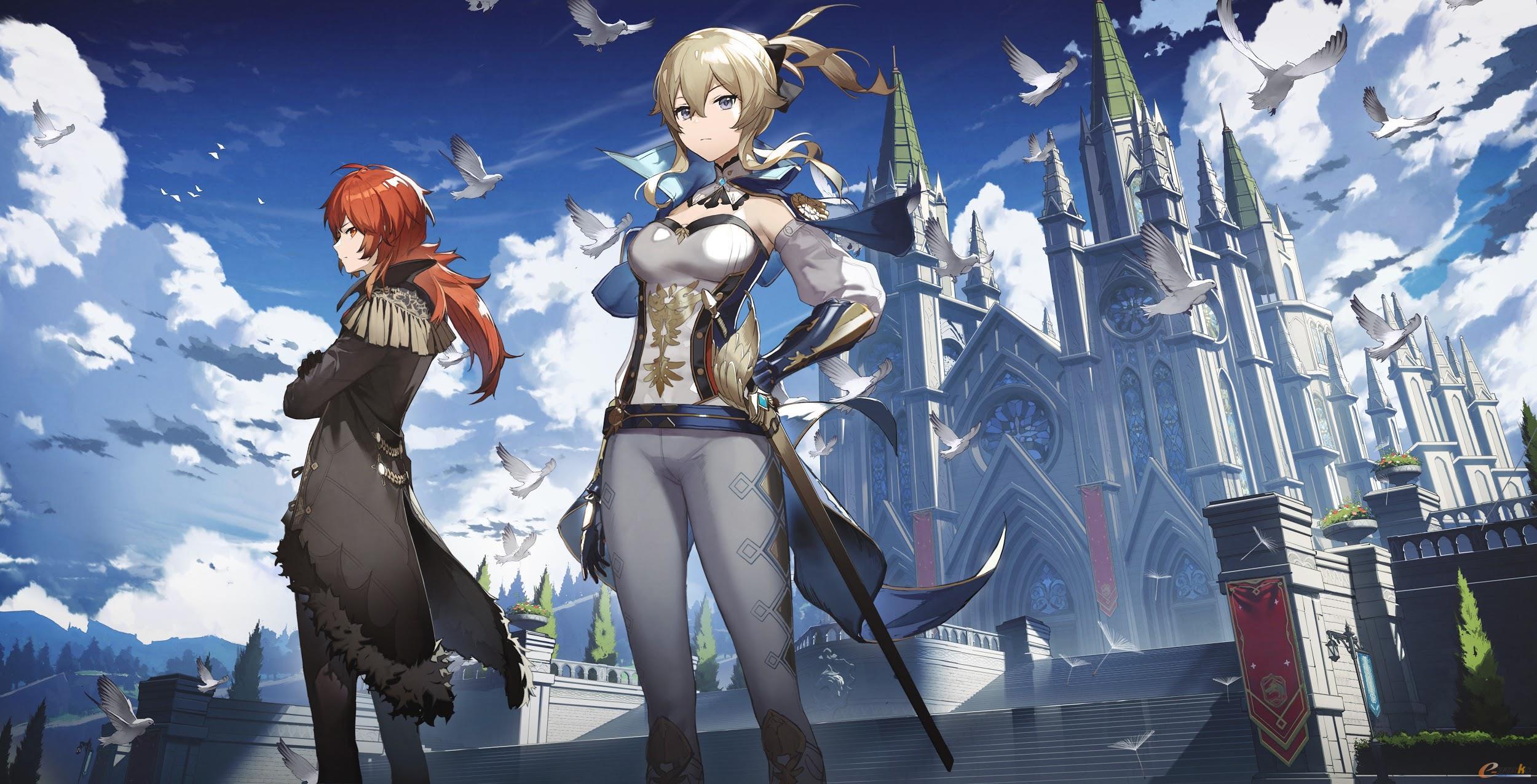 米哈游自研开放世界冒险RPG《原神》
