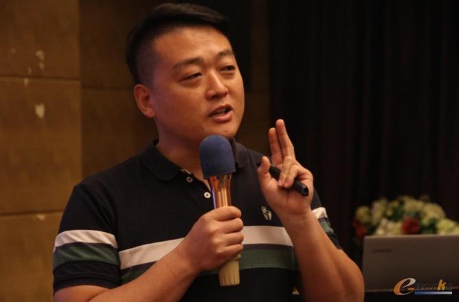 科大讯飞人工智能事业部华南区负责人焦智卿