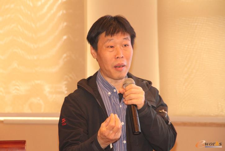图2 北京理工大学数字化制造研究所所长王爱民