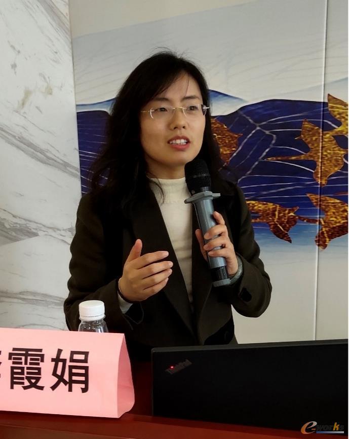 江苏汉软工业智能技术有限公司总经理 李霞娟