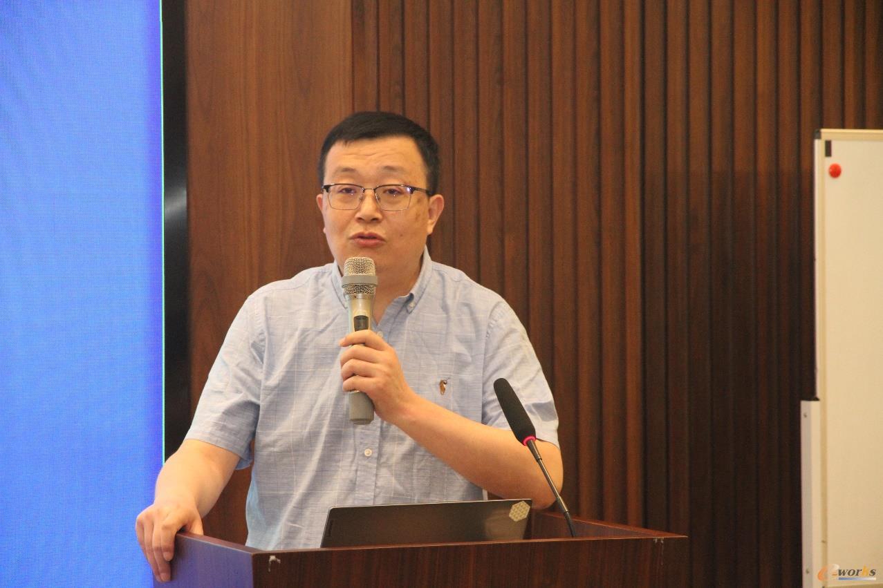 西安航空科技创新服务中心大数据事业部部长王铮阳