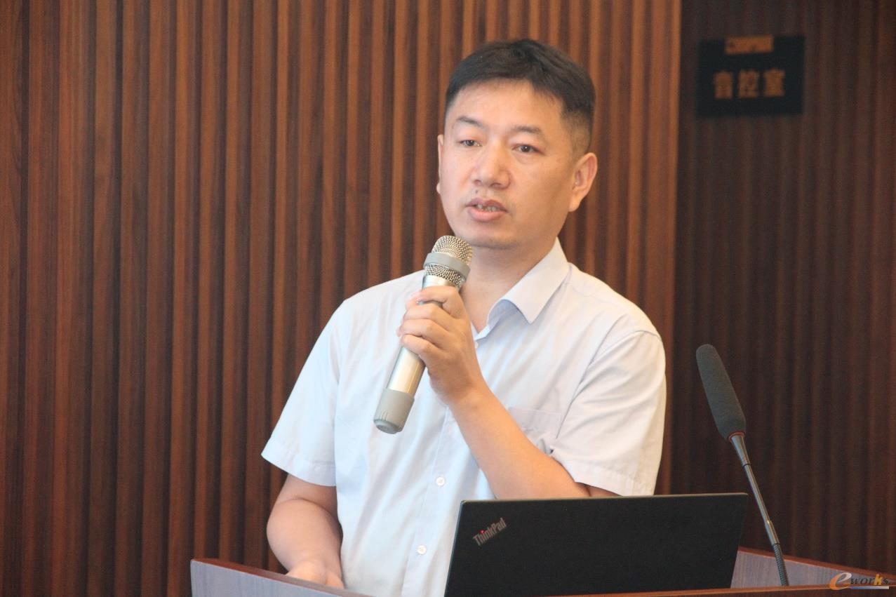 武汉开目信息技术股份有限公司3DCAPP事业部总经理徐济友
