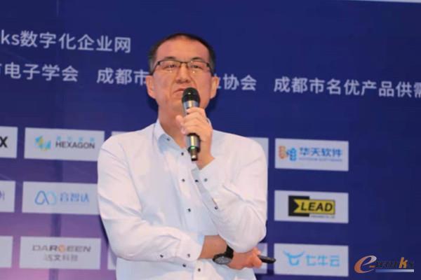 图 16 上海易立德信息技术股份有限公司首席产品官张小勇