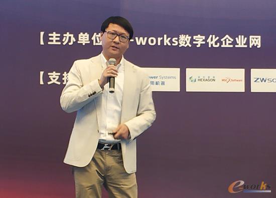 远景能源IT部门总监刘鸣飞