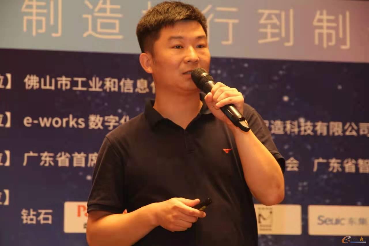 东集解决方案专家朱明武