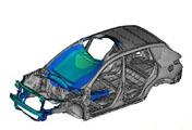 OptiStruct与AMSES在白车身模态优化中的应用