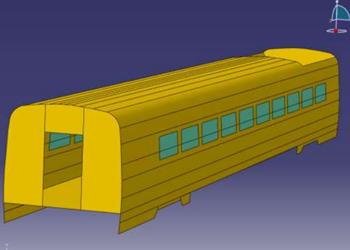 基于LMS振动噪声仿真的高速动车组约束阻尼设计