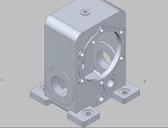 三维零件参数化建模设计