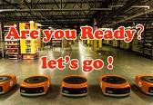 穿梭在亚马逊仓库里的机器人Kiva