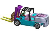 基于SolidWorks的E型叉车三维设计