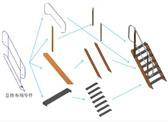 斜梯的模块化设计及三维应用