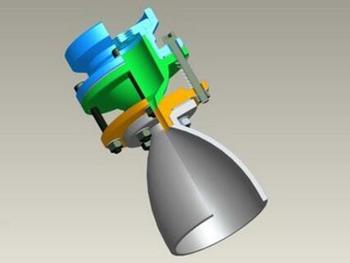 液体火箭发动机三维数字化协同设计研究
