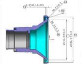复杂壳体MBD数字模型轻量化工程的应用研究