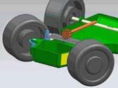 基于CATIA的转向轮运动仿真干涉分析
