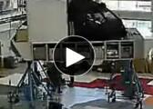 全飞行模拟器的组装过程
