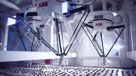 ABB引领未来:包装生产线上的各类机器人