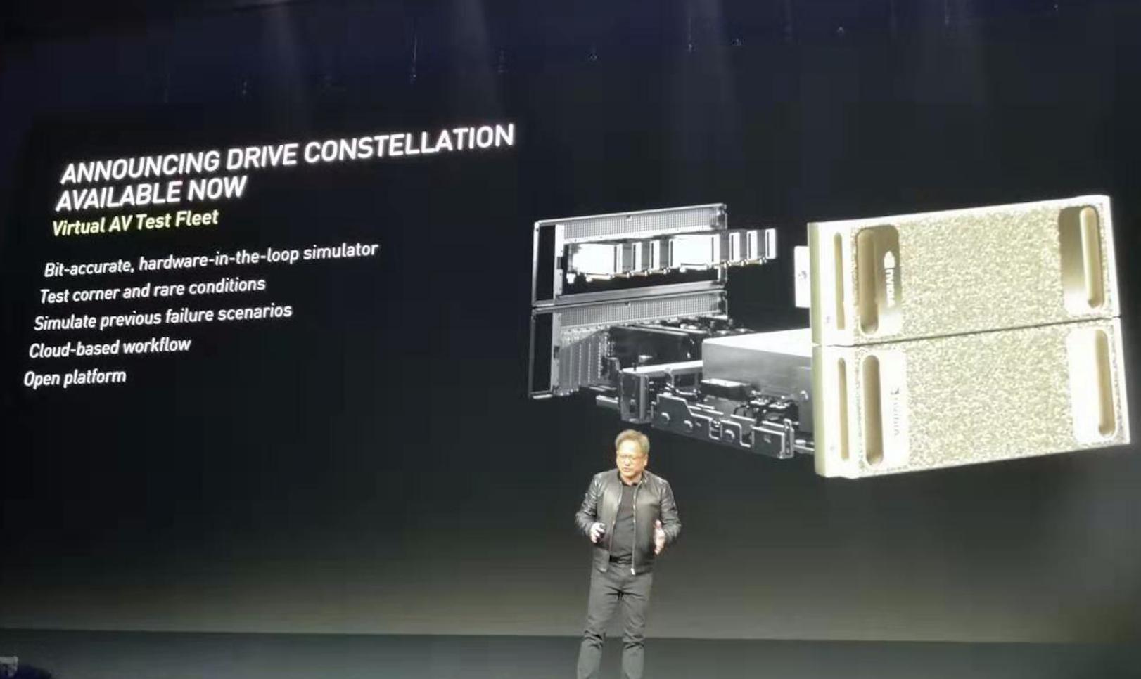 NVIDIA自动驾驶车辆仿真平台正式上市